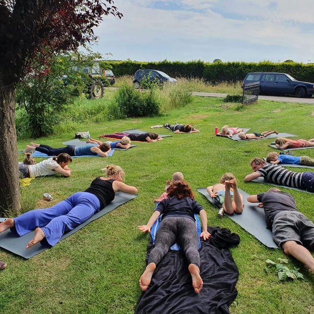 Yoga op de werkvloer