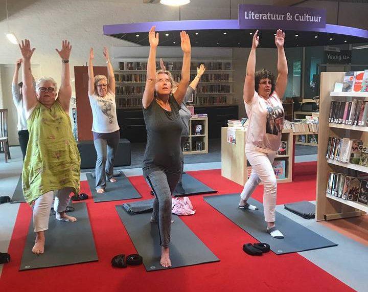 Yoga op de werkvloer bibliotheek