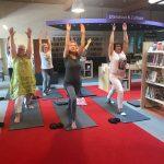 Yoga op werk bibliotheek