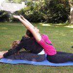 ouder en kind Yoga YogaRelax