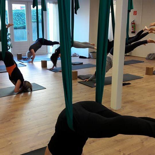 Yoga op de werkvloer YogaRelax yogadoeken