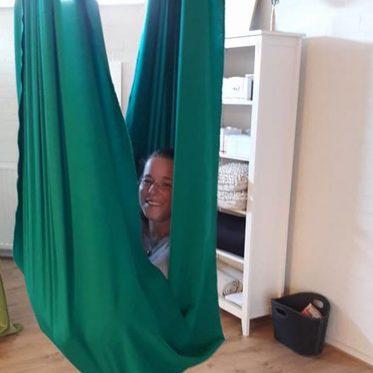 Parent-Child Aerial Yoga